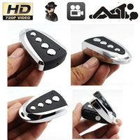 Wholesale NEW SPY Hidden Video Recorder HD Camera Car Key Chain Mini DV DVR DC P V20 CH
