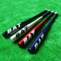 alloy baseball bats - 28 Inch Aluminum Alloy Lightweight Sports Outdoors Athletic BAT Baseball Bats Softball Bat Red Blue Silver Black Y0467