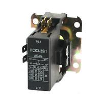 air conditioner contactor - AC V Coil Pole NO Air Conditioner Compressor Magnetic Definite Contactor