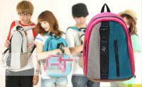 beautiful school bags - HB578 PP Beautiful Unisex Colorful Zipper Backpack School Bag