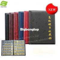 Wholesale 1509 Commemorative Coin Collection Book Pages Units Coin Album Collection Coin Holders
