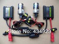 Wholesale Automobile HID Headlight XENON HID Conversion Kit v DC W H7 K K car HID xenon kit lamp bulb Slim ballast block