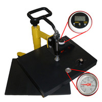 Cheap T-Shirt Heat Press Machine (China) H230 Semi automatic clothing machine Electric heating heat transfer printing equipment Heat transfer