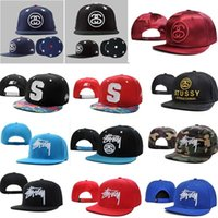 stussy - 10 new Stussy Stock Snapback Arrival many colors Fashion hip hop cap Baseball cap hat Men and women sport cap