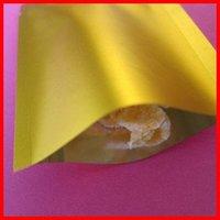 baggies - 200pcs cm cm mic High Quality Gold Retail Bags Plastic Bag Heat Seal Plastic Baggies Food Packing