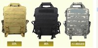 acu computer bag - Tactical computer bag men and women shoulder bag multi colored mud three sand camouflage black ACU