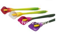Wholesale Calla Lily Pens - Wholesale-wholesale Calla Lily flower pen ,art craft ballopint pen ,new design ,hot !!