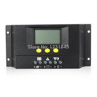 Wholesale Intelligent LCD Display Solar Panel Battery Regulator Solar Charge Controller MPPT A