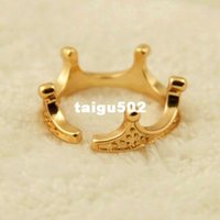 band sunshine - Sunshine jewelry store fashion gold plated crown ring j244
