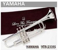Wholesale EMS profesional s YTR SVery professional trumpet instrument B Drop B trumpet