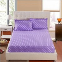 american mattress - Piece American Bed Sheet Fitted Sheets With Pillowcases All Size Mattress Covers Cushion Cover Bed Clothes Bedspread Bed Sheet
