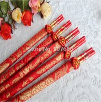 wood dragon - pairs Wood Chinese chopsticks Wedding chopsticks Wedding gift Wedding favors Chinese Dragon Phoenix Printed