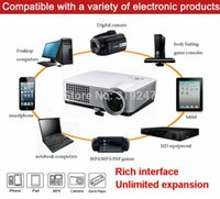 best projector brand - Brand New Best lumens LED HD Home Theater D Portable Projector With HDMI USB Analog TV Tuner