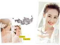 Wholesale Bridal Headpiece Hair Pin Bridal Wedding Flower Pearls Hair Comb Clip Diamante Crystal Rhinestone Hot Wedding Hair Comb