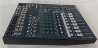Wholesale Pro MG124CX Channel Audio Mixer With Effects MG124CX bus power mixer DSP effects New DJ Minxer Karaoke mixer