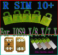 Wholesale NEWEST R SIM RSIM Rsim10 Unlock for iphone s ios9 ios9 IOS9 IOS7 X X X G G GSM CDMA iphone s s s of carrier