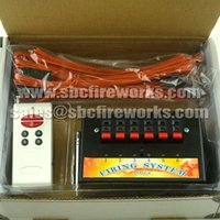 Wholesale fededx channels wireless remote control fireworks family association firing system with electric talon igniters