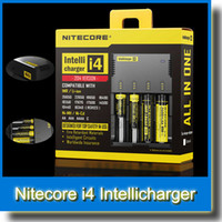 Wholesale Nitecore i4 Universal Charger Nitecore Intellichargeri4 Li ion Ni MH Cd Battery Charger