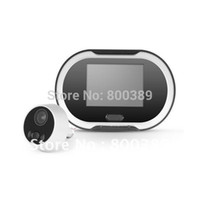 bell view - 170 Wide View Angle quot LCD Digital Door Peephole Viewer Security Camera with Door Bell and LCD Monitor Screen