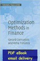 Wholesale Optimization Methods in Finance Mathematics Finance and Risk