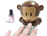 Wholesale Top quality Monkey Dryer Blower Portable Blowing Nails Dryer Fingernail Dryer Nail Salons Stoving Implement
