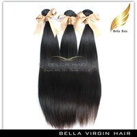 hair dye color - Virgin Brazilian Indian Peruvian Mogolian Malaysian Straight Human Hair Weave Remy Human Hair Extensions Color B Can Not Be Dye