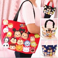 big satchel handbags - 2 sizes Big size Small Size Tsum Shoulder Bag Tsum Handbag Woman shoulder bag Children shopping bag
