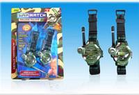 Wholesale 18 OFF New toys TWO WAY RADIO WALKIE TALKIE KIDS CHILD SPY WRIST WATCH WRISTLINX GADGET TOY WALKY TALKY