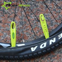 Wholesale ROCKBROS Good Quality Ultralight BicycleTire Tyre Lever POM MTB Mountain Bike Cycling Wheel Repair Tool Colors