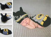 Wholesale batman suit cute costume for show photo baby cloth set bat man cool shower gift toy fun fashion baby newborn