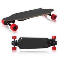 Wholesale Smart Balance Wheel LUOOV Electric Skateboard Longboard Scooter Powerboard W G Wireless Controller Skateboarding Hot