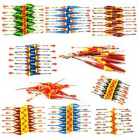 Wholesale 100pcs new Fishing float set for Rock fishing sycamore bobber drift Fishing Floatsfishing tackle