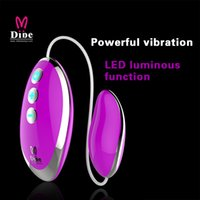Wholesale Led Flash For Adults - Free Shipping 20 Frequency LED flashing Vibrating Egg Sex Vibrator Sex Toys Adult Product For Woman