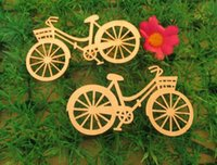 Wholesale 10pcs set Brand New Bicycle Die Cutting Plywood Template DIY Crafts Handicraft Wood Crafts Accessories mm mm