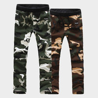 overalls for men - 2014 new loose men in camouflage overalls cotton trousers for men in camouflage pants Korean fashion men s pants