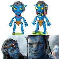 avatar action figure - LOZ Avatar Diamond Building Blocks Best Present Gift Bricks Action Figures Toy Compatible with Nanoblocks