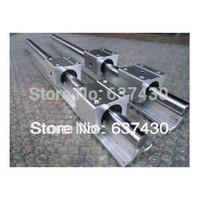 Wholesale 2pcs SBR12 mm linear rail SBR12UU SME12UU linear blocks CNC diy kits d printer