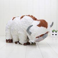appa plush - Big Size Anime Kawaii Avatar Last Airbender Appa Plush Toy Soft Juguetes Stuffed Animal Brinquedos Doll Kids Toys CM