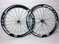 Wholesale 2015 newest ffwd K clincher carbon road wheels mm blue color clincher tubular wheelset road carbon wheels