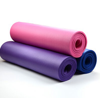 Wholesale 3 Colors cm Eco friendly Yoga Mat Exercise Fitness Baby Play Mat