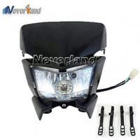 Wholesale Hot sale Motorcycle Headlight Fairing Street Fighter Enduro Motorbike Universal NEW C15