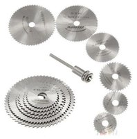 Wholesale 7 HSS Rotary Tools Circular Saw Blades Cutting Discs Mandrel Cutoff Cutter Power tools multitool ON7 ORZ