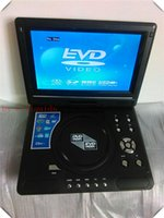 portable dvd player tv - portable DVD player inch region free USB player TV SD TF MMC player game player portable TV degree rotatable TFT LCD