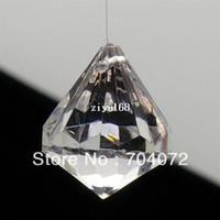 ball confetti - wholsesale mm Hanging Diamond acrylic crystal ball Diamond Table Scatter Confetti