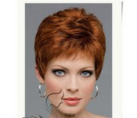 air packets - European and American popular explosion models national air matte gold fluffy short wave wig provides packet