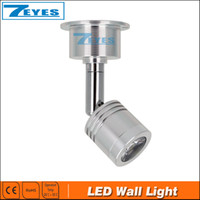 Wholesale LED Silver Bedside Lamp Reading Wall Lamps W Plumbing Trap Background Mirror Light With LED Wall Light