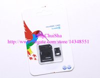 Wholesale 4GB GB GB GB GB GB Class Micro SD TF Memory Card Reader MicroSDHC Card Adapter Retail Package for TF card