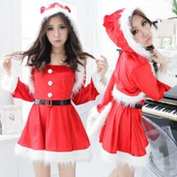 animations ride - The new Christmas clothes female role play animation exported to Japan uniforms Christmas party dress Little Red Riding Hood