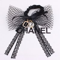 band perfume - Xayakids Hairpin A rubber band on behalf of South Korea Bow ring diamond pearl ring head hair lace perfume bottle Baby Headband