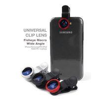 Wholesale 3 in Fish Eye Wide Angle Macro Fisheye Lens Lente Olho de Peixe Para Celular For iPhone Samsung galaxy note S5 S3 Len Lentes